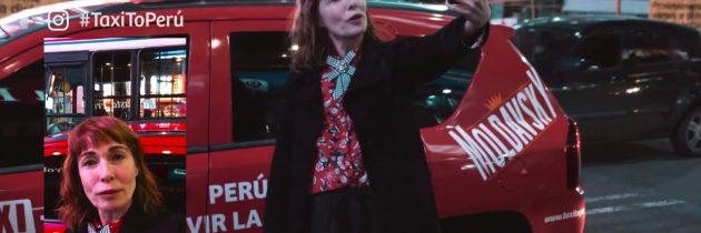 Taxi To Perú – Gloria Carrá @VisitPeru