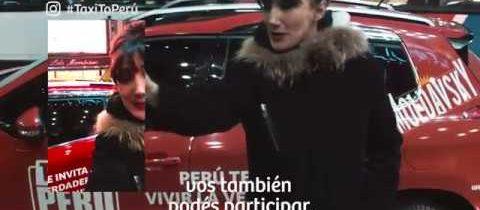 Taxi To Perú – Jorgelina Aruzzi @VisitPeru