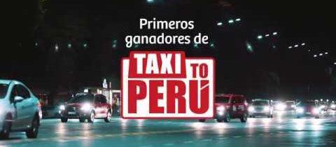 Taxi To Perú – Primeros Ganadores @VisitPeru